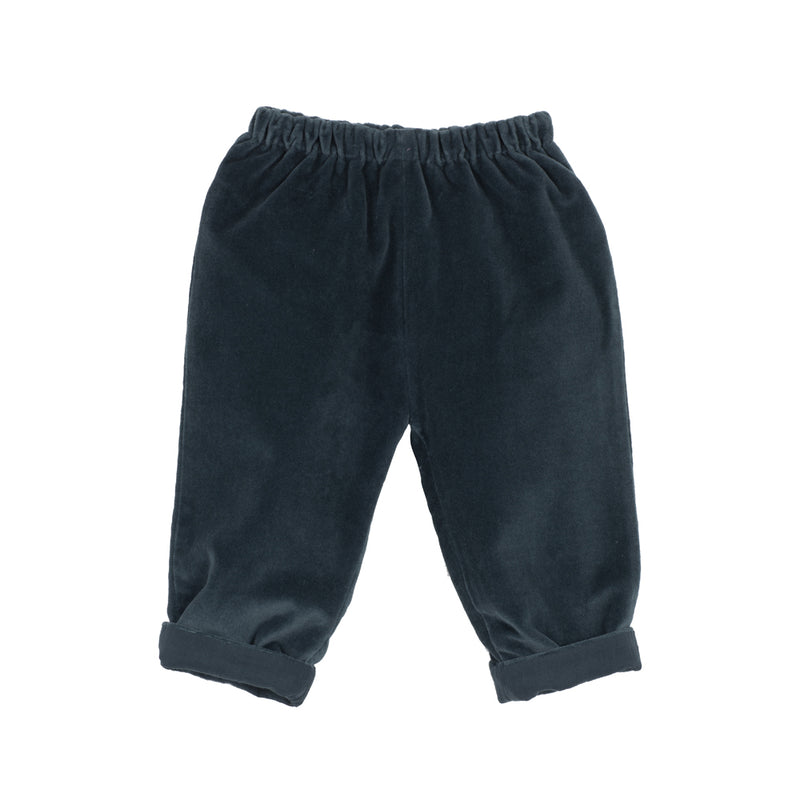 Velveteen Baby Girls Pants