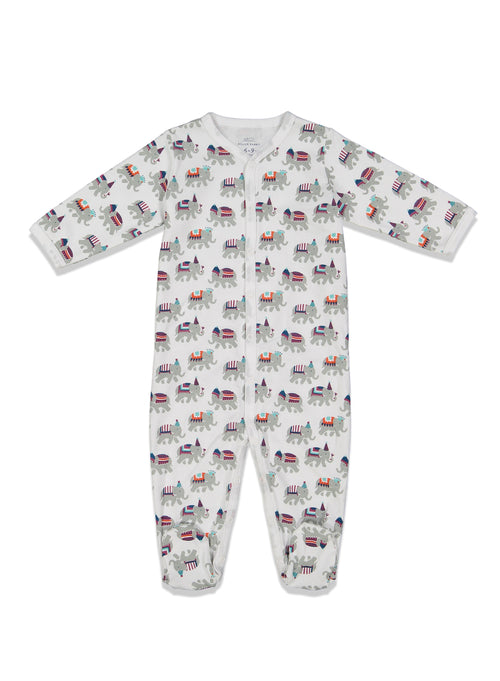 Infant Party Animal Footie Pajamas