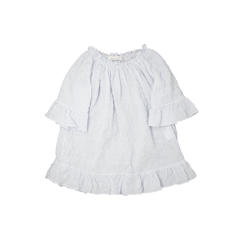 Baby Girls Striped Summer Dress by Babe & Tess