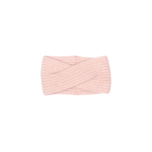 Knitted Headband, Pink