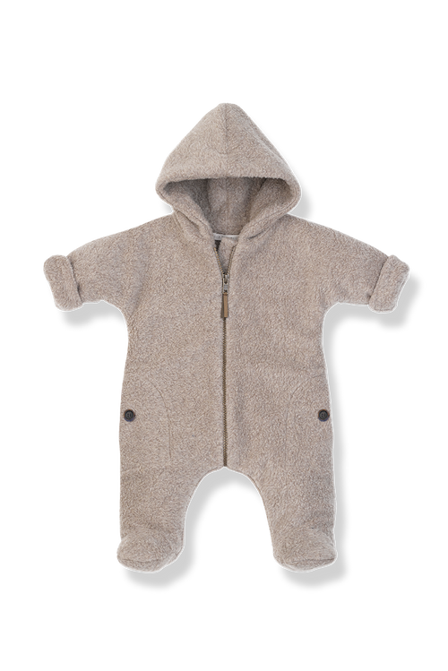 1+ in the Family Baby Clothes - Fleece Jumpsuit