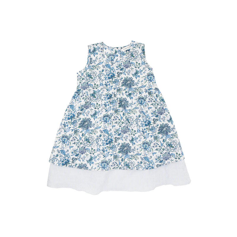 Baby Girls Spring Floral Dress by Babe & Tess