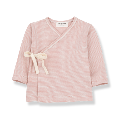 Lloret Newborn Shirt / Rose