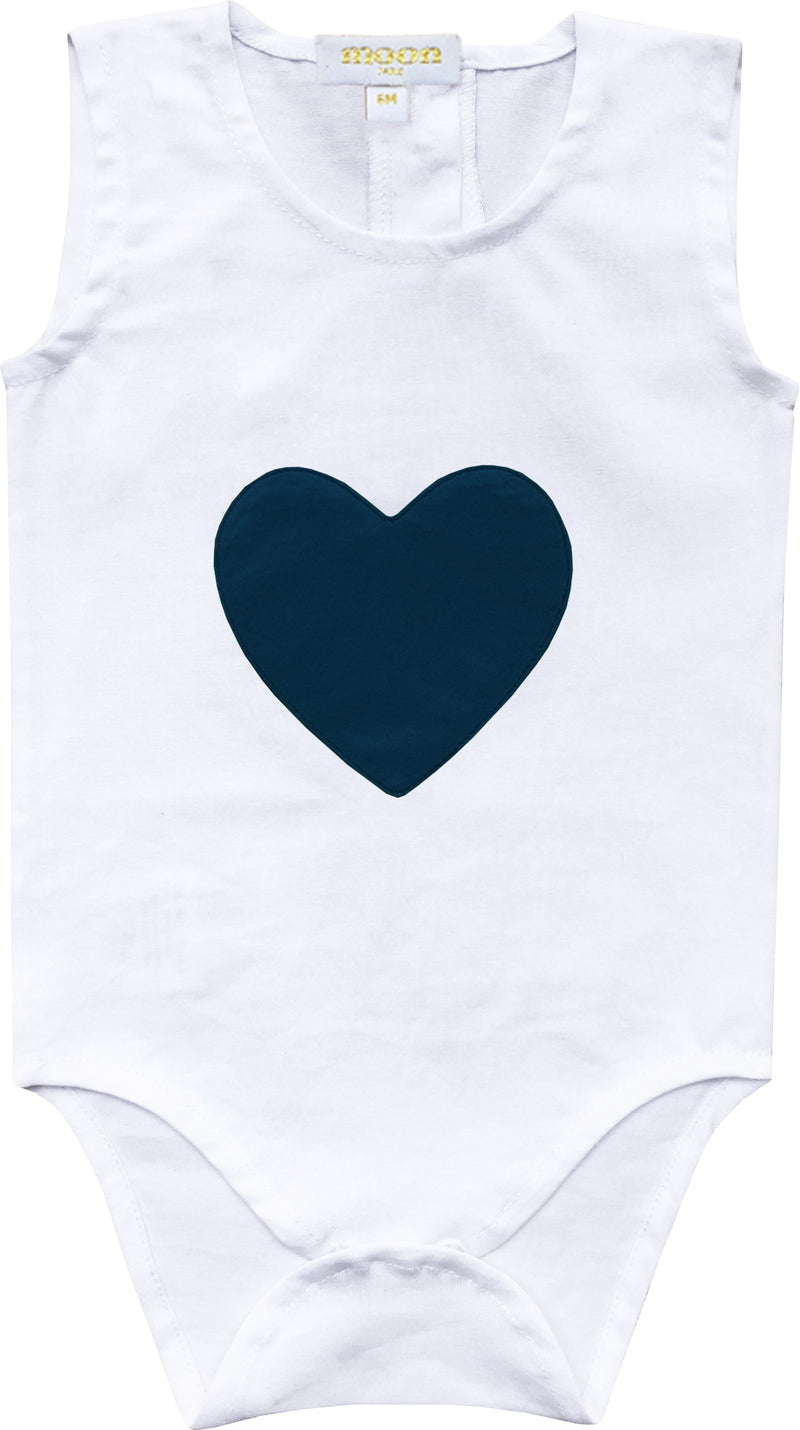 Heart Patch Onesie