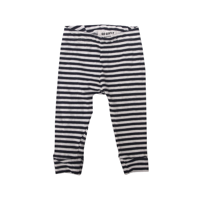 Pencil Pant / Navy Stripe