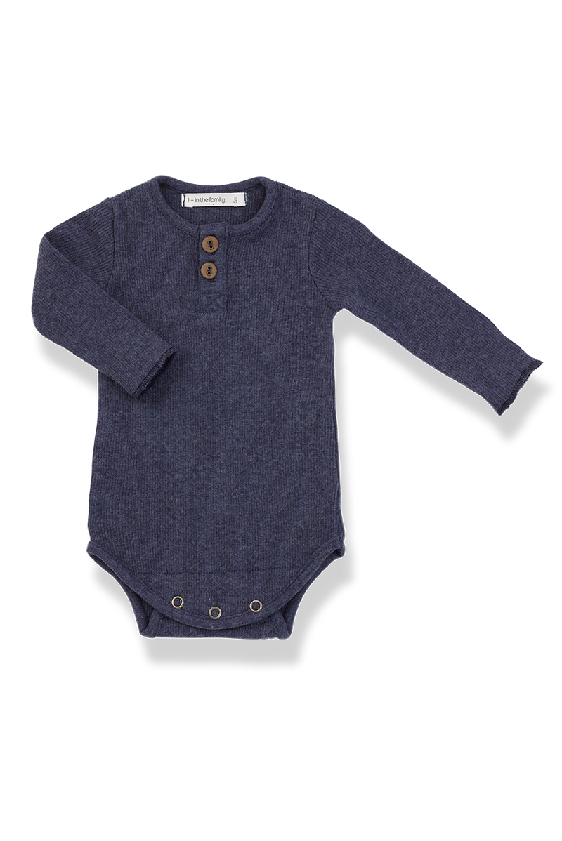 1+ in the Family Baby Clothes - Boys Bodysuit