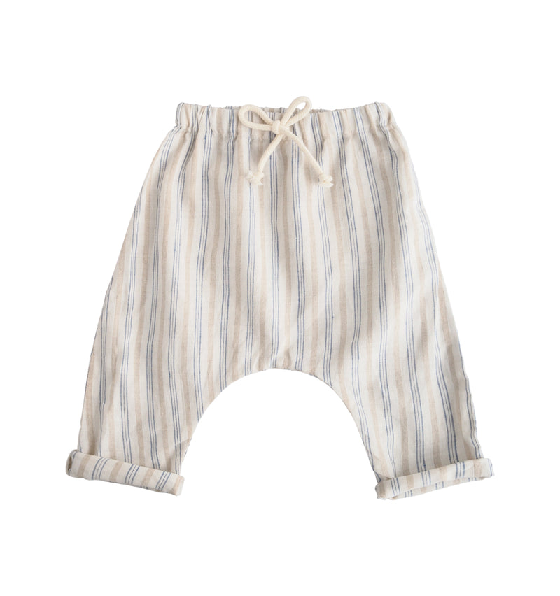 Striped Linen Pants