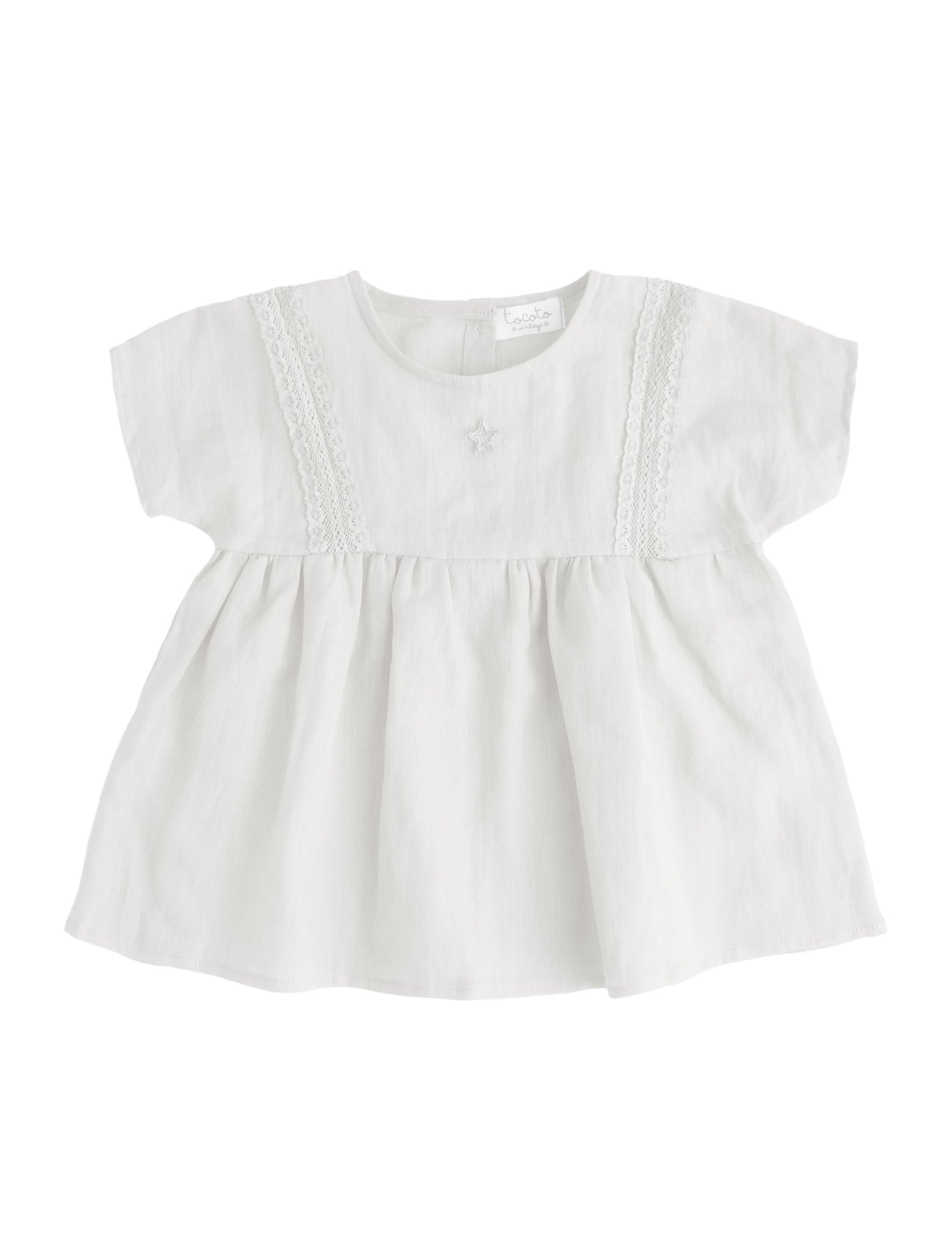 7935b5f2b Tocoto Vintage Baby Summer Linen Cotton Dress – Benny & Lou
