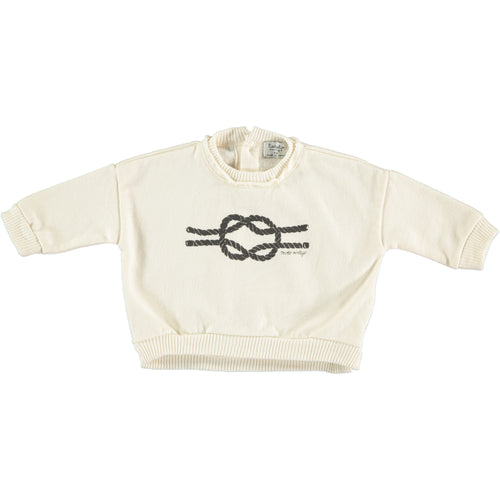 Rope Knit Sweatshirt