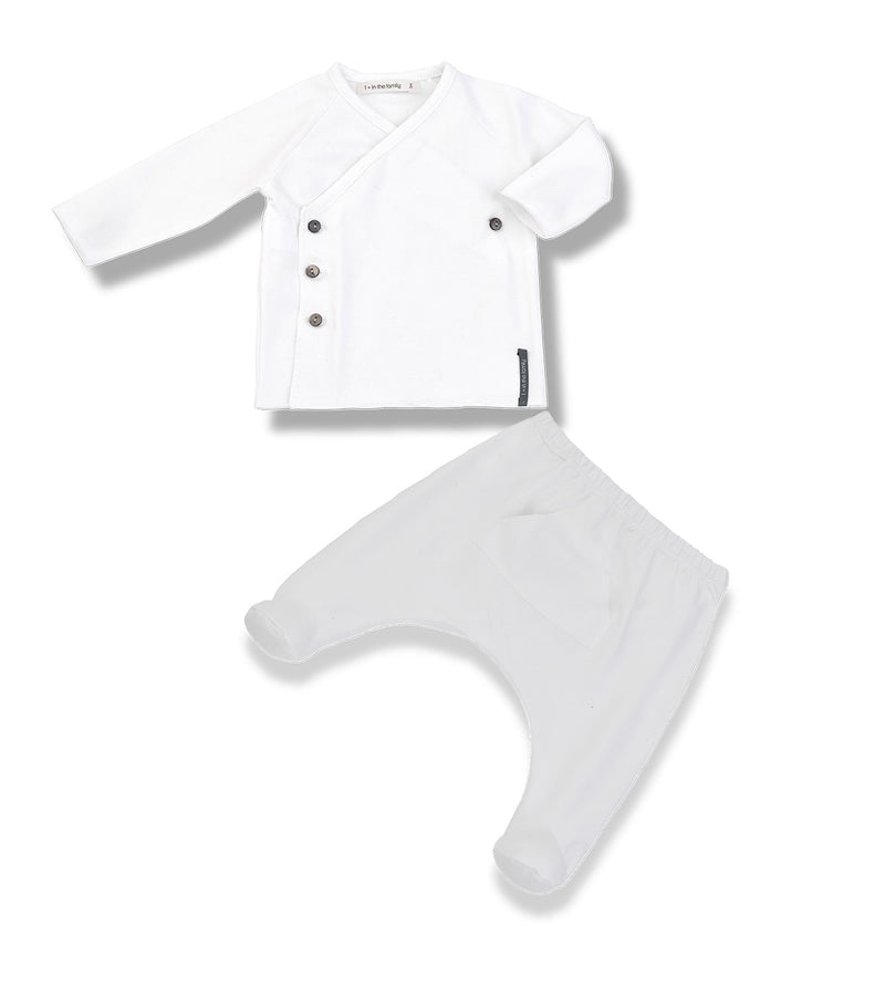 1+ in the Family Baby Clothes - Newborn Set