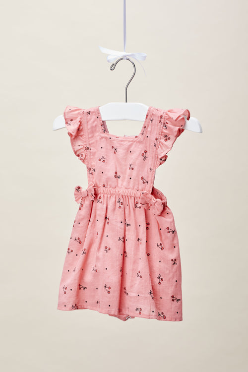 Baby Girls Cherry Print Dress