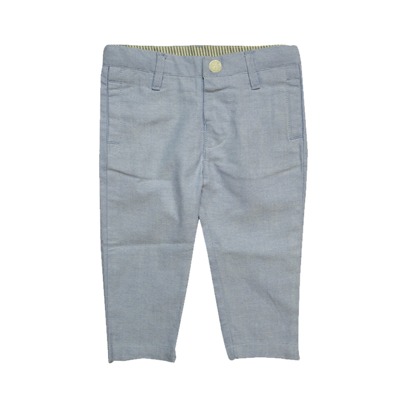 Baby Boys Spring Pants - Light Blue - La Petite Collection