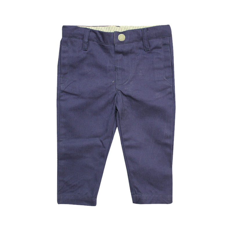 Baby Boys Navy Pants - La Petite Collection