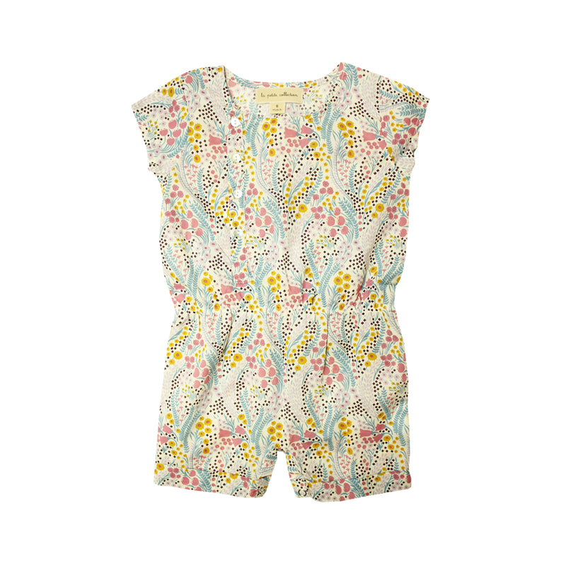 Baby Girls Floral Romper - La Petite Collection
