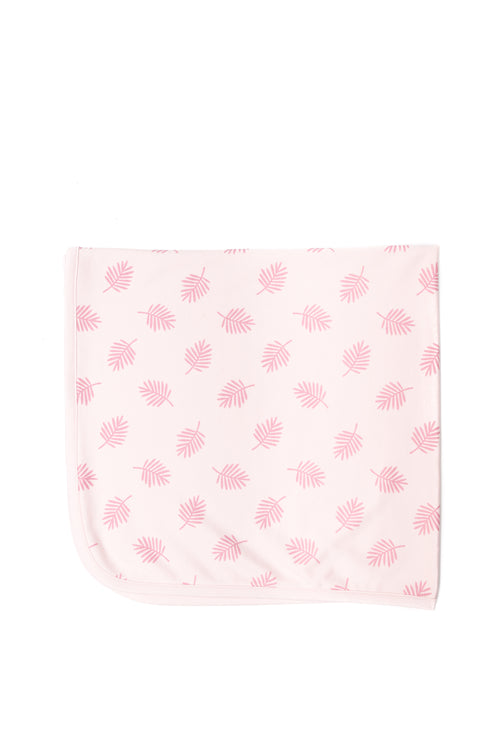 Leaves Blanket / Pink