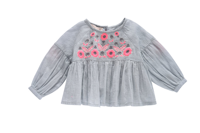 Louise Misha Baby Girl Top- Sarah Blouse