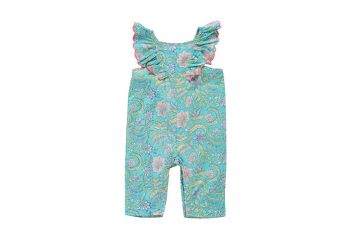 Baby Girls Summer Jumpsuit - Louise Misha Mumbai