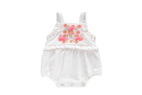 Louise Misha Baby Girls Romper