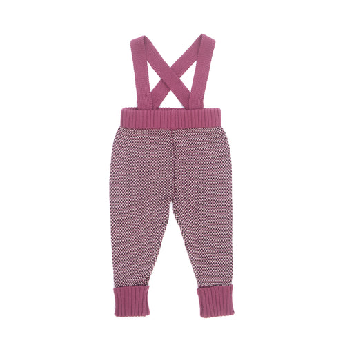 Suspender Pants / Wine