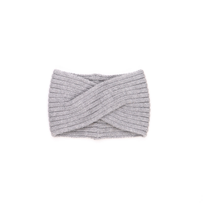 Knitted Headband / Grey