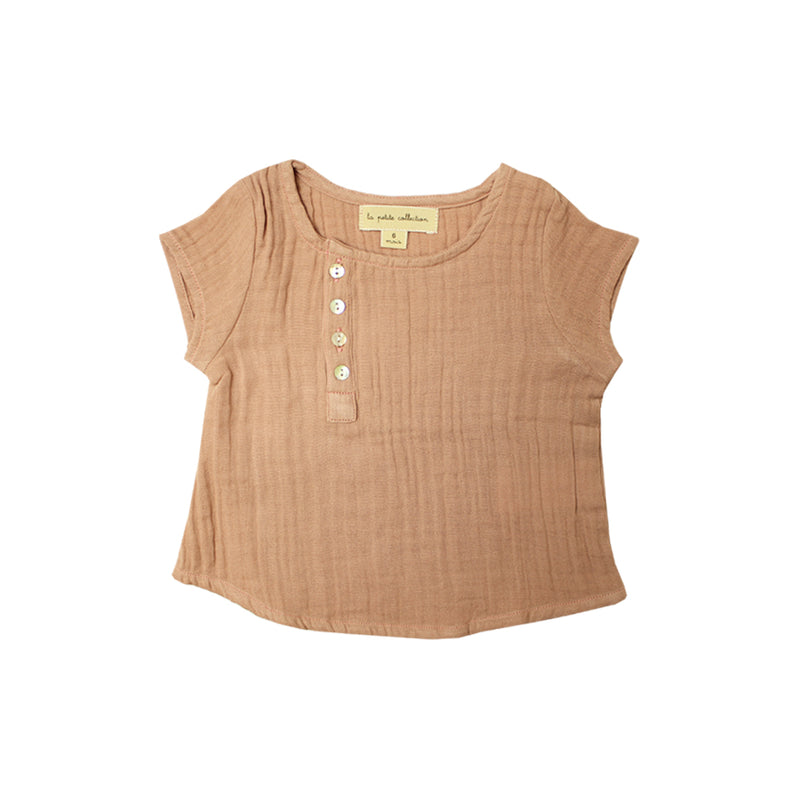 Baby Girls Short Sleeve Blouse - La Petite Collection