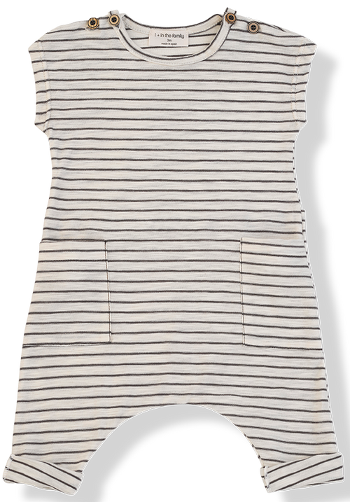 1+ in the Family Baby Romper - Matisse