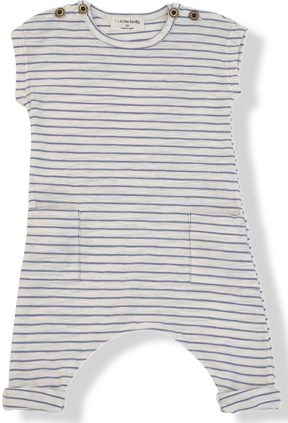 1+ in the Family Unisex Baby Romper - Matisse
