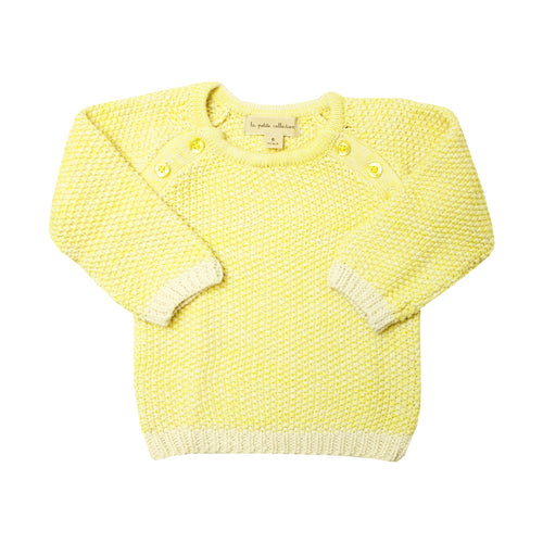 Yellow Baby Sweater - La Petite Collection