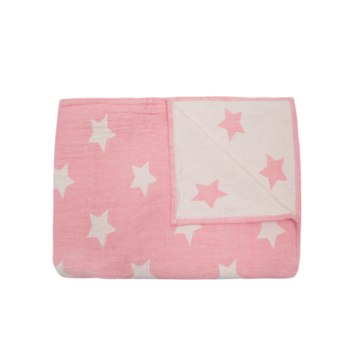 Baby Mori UK Star Throw - Organic Cotton