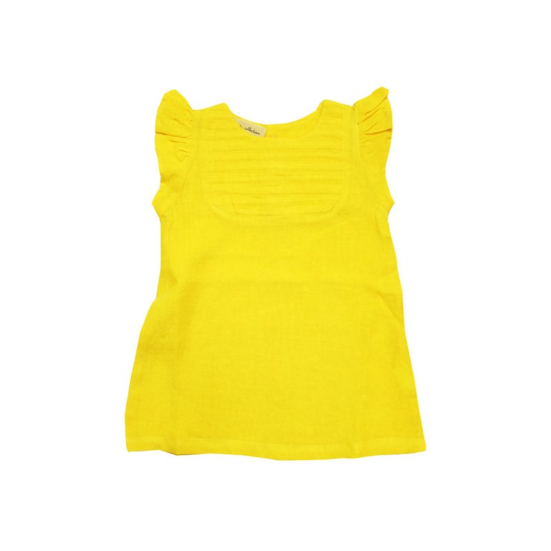 Baby Girls Summer Yellow Dress - La Petite Collection