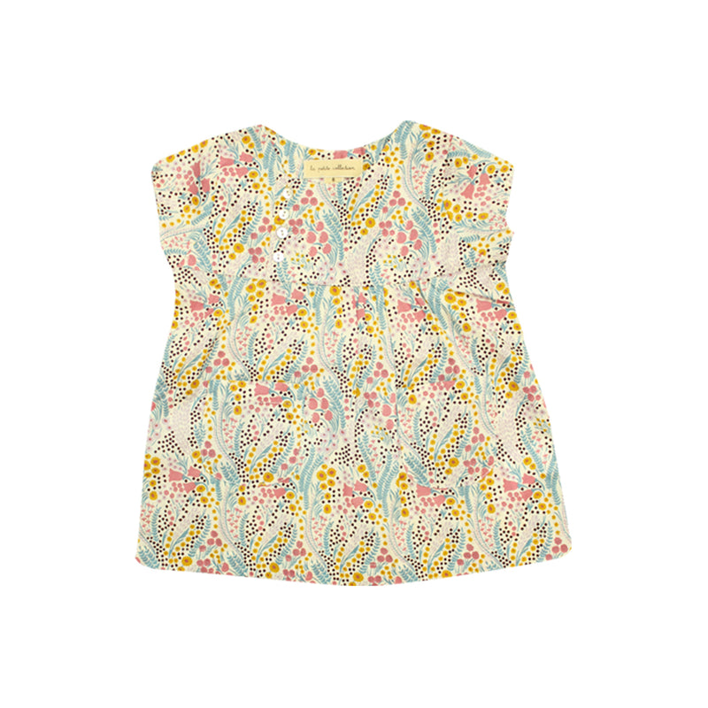 Baby Girls Liberty of London Print Floral Dress - La Petite Collection