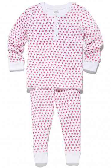 Roberta Roller Rabbit - Kids Pajama Set Hearts