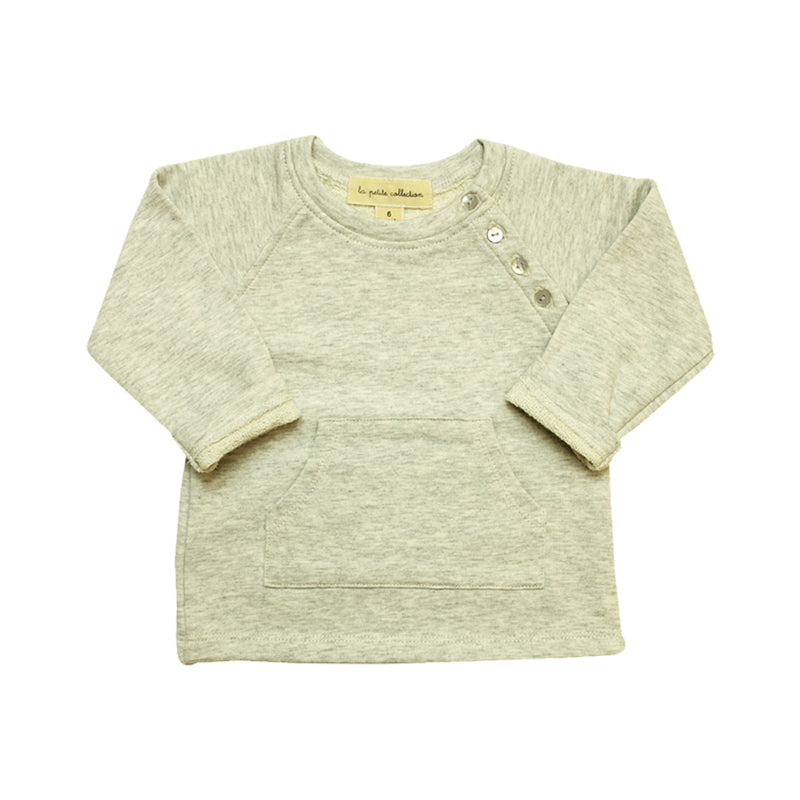 Grey Baby Sweatshirt - La Petite Collection