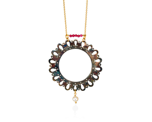 Full-moon Necklace