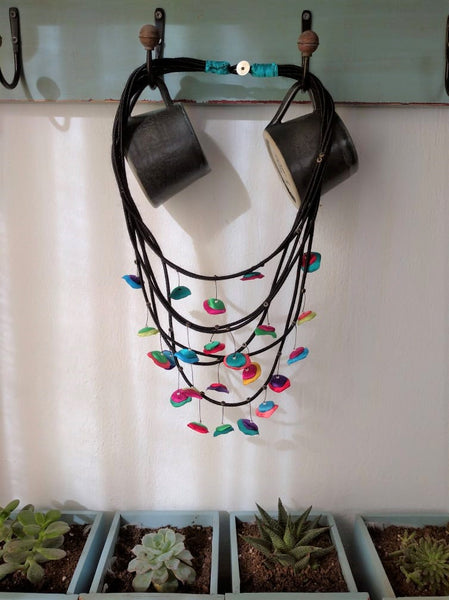 Silk Necklace I