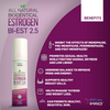 All Natural Estrogen Cream 2.5mg ESTRO Cream - Two Month Supply