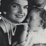 Jackie Kennedy - Birth Gift to Mother