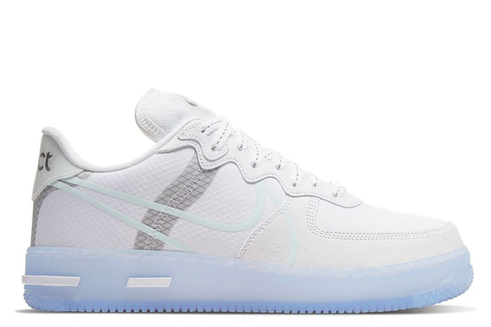 NIKE AIR FORCE 1 REACT WHITE LIGHT BONE