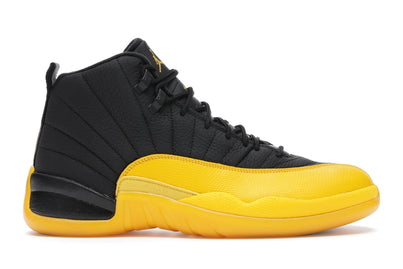 AIR JORDAN 12 RETRO BLACK UNIVERSITY GOLD