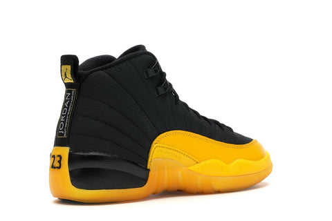 AIR JORDAN 12 RETRO BLACK UNIVERSITY GOLD (GS)