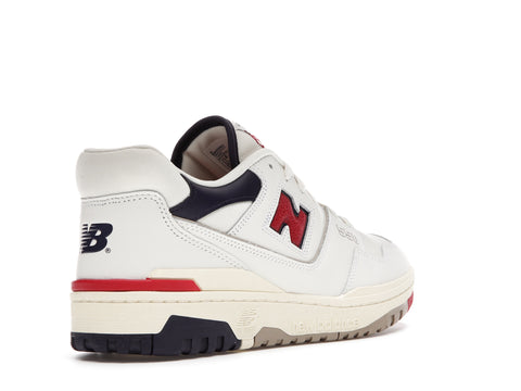 NEW BALANCE 550 AIME LEON DORE WHITE NAVY RED