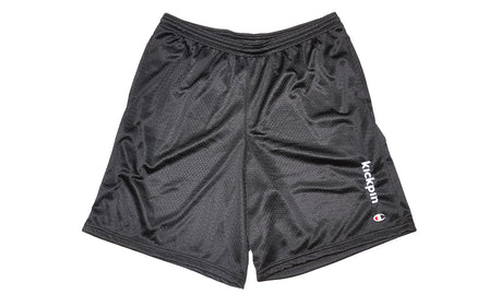 KICKPIN CHAMPION MESH SHORTS BLACK