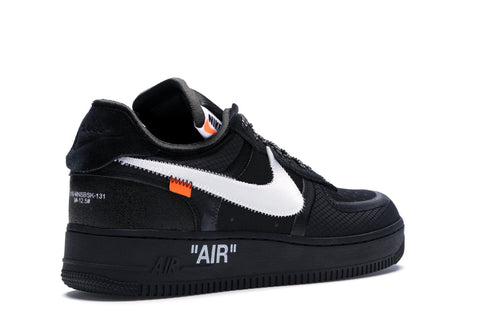 NIKE OFF WHITE AIR FORCE 1 LOW BLACK