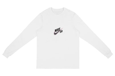 TRAVIS SCOTT CACTUS JACK FOR NIKE SB LONGSLEEVE TEE WHITE