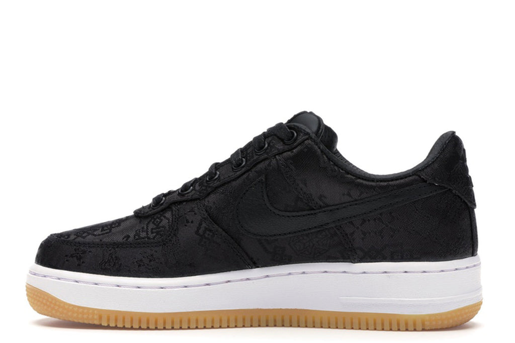 NIKE AIR FORCE 1 LOW FRAGMENT DESIGN x CLOT BLACK