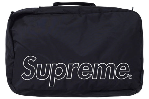 SUPREME DUFFLE BAG (FW19) BLACK