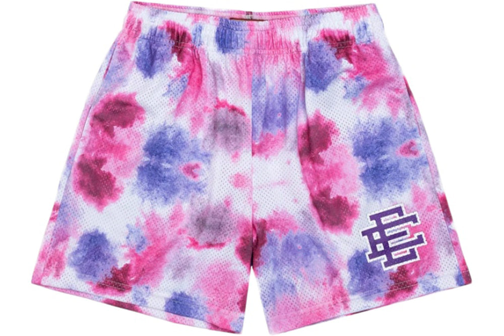 ERIC EMANUEL EE BASIC SHORT PURPLE/PINK TIE DYE