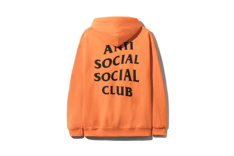 ANTI SOCIAL SOCIAL CLUB FLAMINGO BRIGHT ORANGE HOODIE