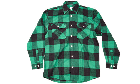 ANTI SOCIAL SOCIAL CLUB GREEN FLANNEL