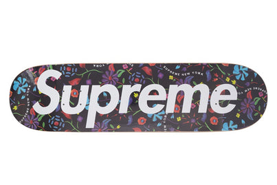 SUPREME FLORAL DECK BLACK